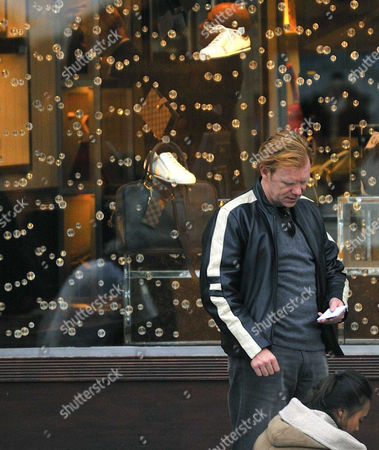 Editorial image of David Caruso and friends Out and About in Paris, France - 13 Dec 2008