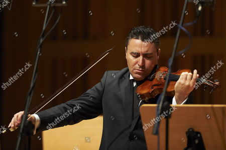 Russian Violinist Maxim Vengerov Performs During a Concert with the Polish Baltic Philharmonic As Part of the Solidarity Festival of Arts in Gdansk Poland 08 August 2012 Poland Gdansk