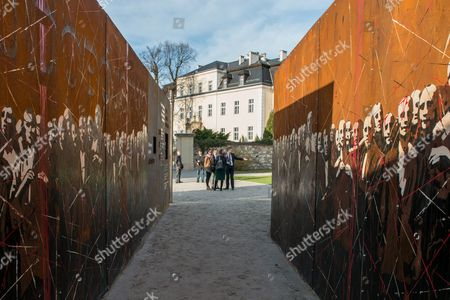 A General View of the 'Courage and Reconciliation' Exhibition Presented on the Ocassion of the 25th Anniversary of the Mass of the Polish-german Reconciliation in Krzyzowa Poland 12 November 2014 on 12 November 1989 Polish Prime Minister Tadeusz Mazowiecki and German Chancellor Helmut Kohl Embrace Each Other During the Holy Mass Starting the Reconciliation Between the Two Nations After Post-war Difficult and Bitter Relations the Exhibition Organized by the Museum of Polish History Will Be Officially Opened by Polish Prime Minister Ewa Kopacz and German Chancellor Angela Merkel on 20 November Poland Krzyzowa