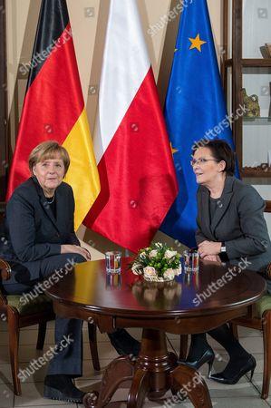 Editorial image of Poland Germany Diplomacy - Nov 2014