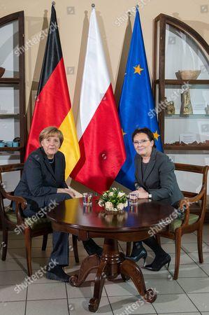Editorial photo of Poland Germany Diplomacy - Nov 2014