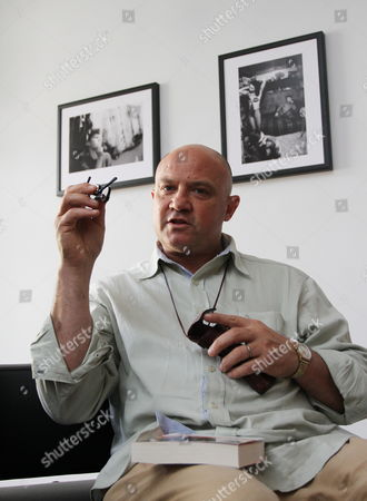 South African Born Photographer Greg Marinovich Presents His Exhibition 'Warsaw Circus' in Cracow Poland 04 October 2012 Marinovich is a Rsa's Legend of Photojournalism War Photography and Member of the Bang-bang Club He was Awarded the Pulitzer Prize For Spot News Photography in 1991 a Leica Award and a Visa D'or the Exhibition Opens on 04 October Poland Cracow
