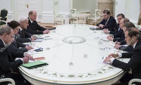 Matthias Muller and Vladimir Putin