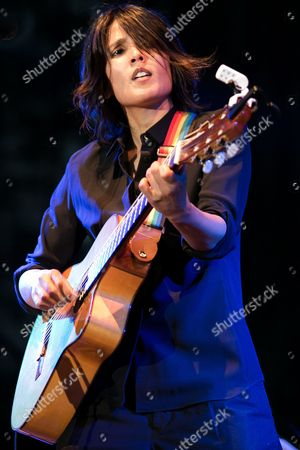 British Singer-songwriter Tanita Tikaram Performs Onstage During Her Concert in Wroclaw Poland 19 June 2012 Poland Wroclaw