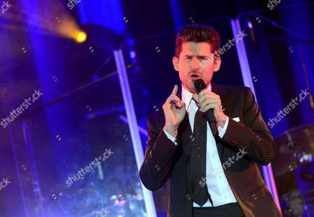 Editorial image of Poland Music Matt Dusk Concert - Nov 2013