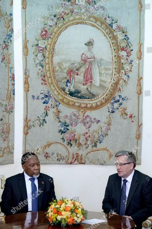 Editorial image of Poland South Africa Diplomacy - Mar 2014