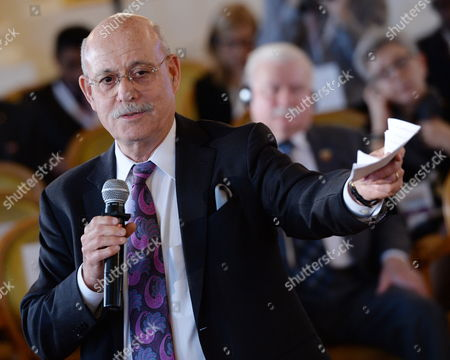 Us Economist Jeremy Rifkin Speaks During 'Changes in Practice: Tools and Challenges' Debate at the Warsaw Solidarity Forum at the Royal Castle in Warsaw Poland 16 May 2014 the Forum 25 Years After the Historic Transition That Brought Freedom to Poland and 10 Years After Poland Joined the Eu is Focused on the Lesson That Can Be Drawn From the Polish Transformation For the Region and the World Poland Warsaw