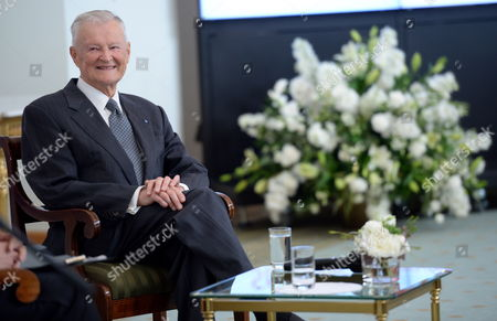 Us Political Scientist Zbigniew Brzezinski During a Debate 'Ideas of New Age' As Part of Freedom Day Celebrations at the Presidential Palace in Warsaw Poland 06 June 2013 Poland Warsaw