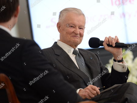 Us Political Scientist Zbigniew Brzezinski Speaks During a Debate 'Ideas of New Age' As Part of Freedom Day Celebrations at the Presidential Palace in Warsaw Poland 06 June 2013 Poland Warsaw