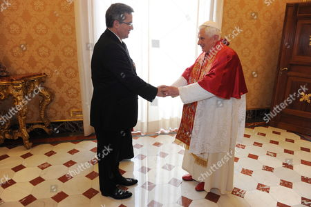 Editorial picture of Vatican Poland - Oct 2010