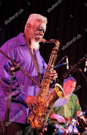 Us Jazz Saxophonist Pharoah Sanders and His Quartet Perform During the Warsaw Summer Jazz Days Festival at the Sala Kongresowa Concert Hall in Warsaw Poland 01 July 2010 the Jazz Festival Runs From 01 to 04 July Poland Warsaw