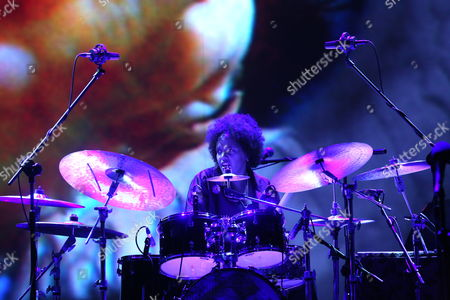 Us Composer and Drummer Terri Lyne Carrington Performs During Her Concert 'The Mosaic Project' with Us Jazz Singer Carmen Lundy (unseen) Israeli Bassist Tamir Shmerling (unseen) and Us Jazz Pianist Helen Sung (unseen) in Warsaw Poland 08 November 2012 Poland Warsaw