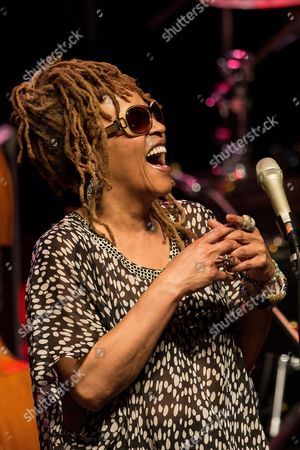 Us Jazz Singer Cassandra Wilson Performs on Stage During the Jazz Festival on the River Odra in Wroclaw Poland 13 April 2013 Poland Wroclaw