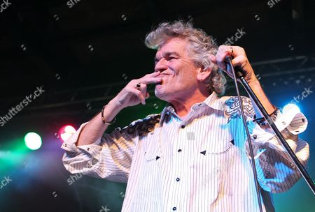Dan Mccafferty of Scottish Rock Group Nazareth Performs on Stage During Their Concert in Warsaw Poland 27 May 2012 Poland Warsaw