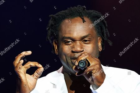 Swedish Singer Dr Alban Performs on the Stage During a Concert at the Polsat Sopot Festival 2014 in Sopot Poland 22 August 2014 Poland Sopot