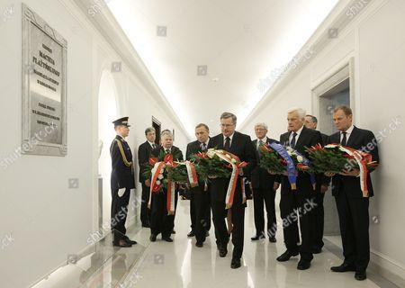 Editorial image of Poland Polish Presidential Plane Crash 1st Anniversary - Apr 2011