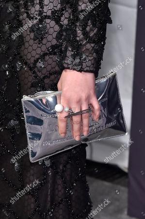 Stock Photo of Natalie Ludwig, bag detail