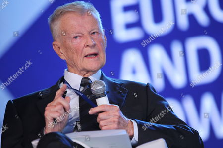 American Political Scientist Zbigniew Brzezinski Attends the European Forum For New Ideas a Business Conference 'Scenarios For Europe' in Sopot Poland 26 September 2012 the Participants Will Try to Create Scenarios For Europe During Five Plenary Sessions Several Discussion Panels Special Debates Workshops and Lectures the Meeting Will End on 28 September Poland Sopot