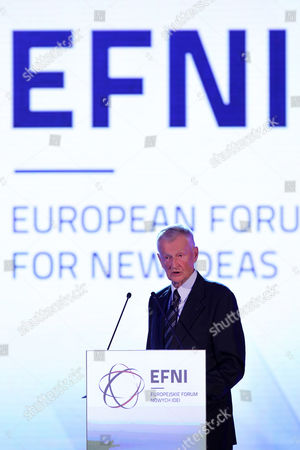 Us Political Scientist Zbigniew Brzezinski Delivers a Speech During the European Forum For New Ideas (efni) a Business Conference Titled 'Scenarios For Europe ' in Sopot Poland 26 September 2012 the Meeting Which Runs Until 28 September Aims at Creating Scenarios For Europe During Five Plenary Sessions Several Discussion Panels Special Debates Workshops and Lectures Poland Sopot