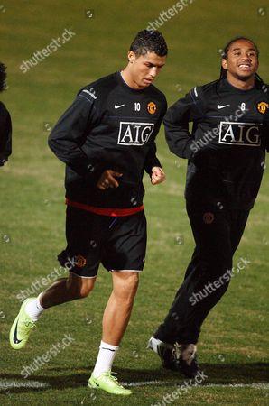Cristiano Ronaldo and Anderson Luis de Abreu Oliveira
