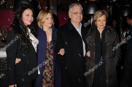 Carole Caplin, guest, Bill Kenwright and Jenny Seagrove
