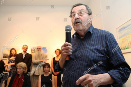 Nobel Prize-winning German Author Gunter Grass Attends the Opening Ceremony of the Exhibition 'Gunter Grass Water-colour' in Gdansk Poland 30 June 2012 the Exhibition Presents in the Municipal Gallery Selected Watercolors From the Gunter Grass Book of Poems the Exhibition is Supplemented by Watercolors From the Fifties Poland Gdansk