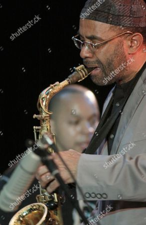 Us Jazz Saxophonist Kenny Garrett (r) Played with His Band the Kenny Garrett Quartet in Szczecin Poland 05 April 2011 the Musicians Performed on the Occasion of the 10th Anniversary of the Association of Jazz Orchestra Poland Szczecin