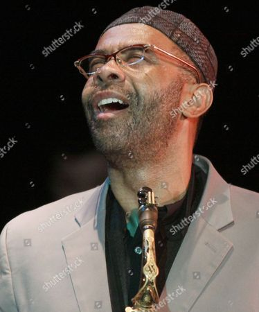 Us Jazz Saxophonist Kenny Garrett Played with His Band the Kenny Garrett Quartet in Szczecin Poland 05 April 2011 the Musicians Performed on the Occasion of the 10th Anniversary of the Association of Jazz Orchestra Poland Szczecin
