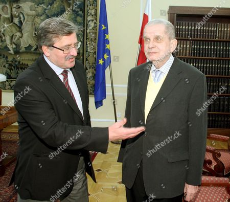 Editorial image of Poland Lithuania Sejm Venclova - Feb 2009