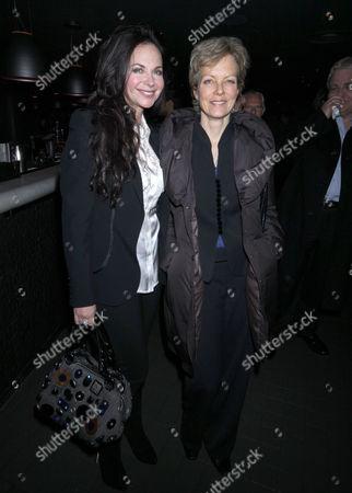 Carole Caplin and Jenny Seagrove