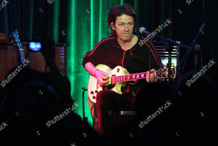 Argentine-english Guitarist Dominic Miller Performs During a Concert at Zeilinski Palace in Kielce Poland 24 April 2010 Dominic Miller Released in 2010 an Album Entitled 'November' Poland Kielce