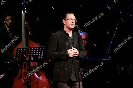 Us Jazz Singer Kurt Elling Performs Onstage During His Concert in Gorzow Wielkopolski Poland 29 March 2011 Poland Gorzow Wielkopolski