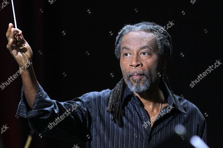 Us Jazz Musician Bobby Mcferrin Performs During the Concert 'Mc Ferrin +' Organized by the Solidarity Festival of Arts in Gdansk Poland 17 August 2013 Poland Gdansk