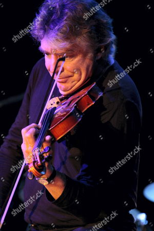 French Jazz Violinst Didier Lockwood Performs Live on Stage with Us Jazz Guitarist Mike Stern (not Pictutred) in Gorzow Wielkopolski Poland 24 October 2010 Poland Gorzow Wielkopolski