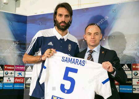 Georgios Samaras and Christian Lapetra