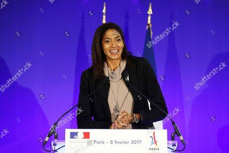 Editorial photo of Presentation of Paris' 2024 Olympics bid, France - 08 Feb 2017