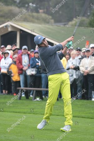 Editorial picture of ATandT Pebble Beach Pro-Am Golf Tournament, Celebrity Challenge, USA - 08 Feb 2017