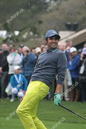 Editorial image of ATandT Pebble Beach Pro-Am Golf Tournament, Celebrity Challenge, USA - 08 Feb 2017