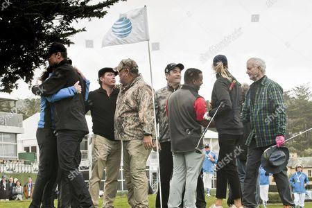 Josh Duhamel, KennyG, Clay Walker, Larry the Cable Guy, Huey Lewis, Alfonso Ribeiro, Bill Murrays Kelly Rohrback