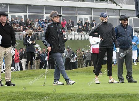 Editorial image of ATandT Pebble Beach Pro-Am Golf Tournament, Celebrity Challenge, USA - 08 Feb 2017