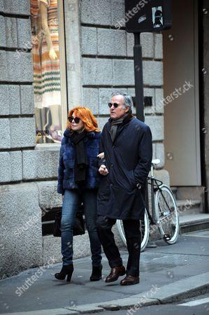 Giuliano Adreani and wife Cicci Adreani
