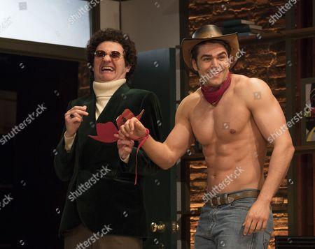 Mark Gatiss as Harold,  Jack Derges as Cowboy