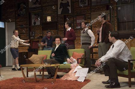 James Holmes as Emory, Jack Derges as Cowboy, Mark Gatiss as Harold, Ian Hallard as Michael,Daniel Boys as Donald, Ben Mansfield as Larry, Nathan Nolan as Hank