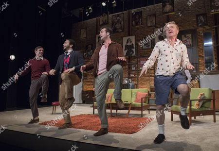 Editorial picture of 'The Boys in the Band' Play performed at the Vaudeville Theatre, London, UK, 08 Feb 2017