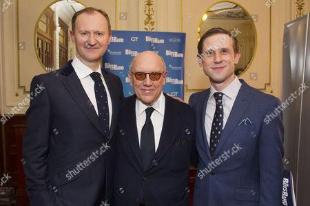 Mark Gatiss (Harold), Mart Crowley (Author) and Ian Hallard (Michael)