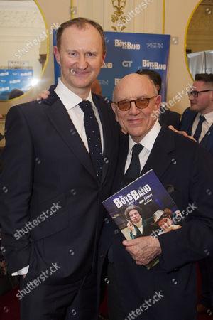 Mark Gatiss (Harold) and Mart Crowley (Author)