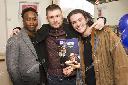 Rohan Pinnock-Hamilton, Danny-Boy Hatchard and Jonny Labey