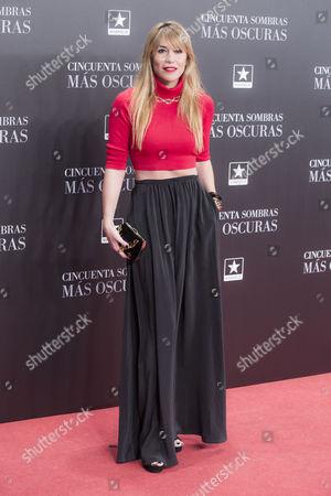 Stock Image of Raquel Merono