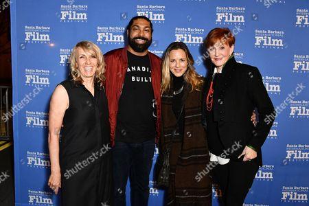 Stock Image of Bronwen Hughes, Gugun Deep Singh, Maria Bello, Kathy Eldon