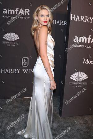 Editorial photo of amfAR New York Gala, Arrivals, USA - 08 Feb 2017